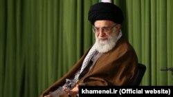 Верховный лидер Ирана аятолла Хаменеи. 12 октября 2015 года.