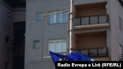 Zastava EU u Prištini