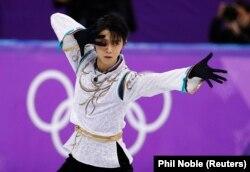 Юдзуру Ханю на других поспіль Олімпійських іграх стає чемпіоном в одиночному катанні серед чоловіків
