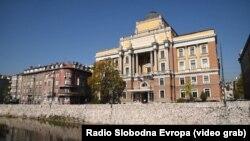 Univerzitet u Sarajevu i zgrada Pravnog fakulteta