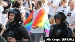 La parada LGBT de la Chișinău, 18 mai 2018