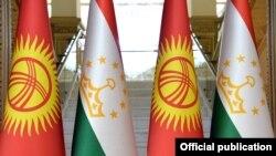 Кыргызстан менен Тажикстандын туулары.