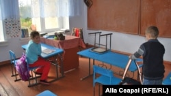 A village school in Moldova (file photo)