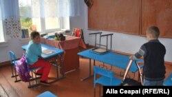 A village school in Moldova (file photo)
