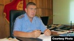Малик Нурдинов, Жалал-Абад облустук милициясынын жетекчиси.