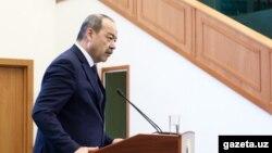 Өзбекстан премьер-министрі Абдулла Орипов.