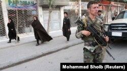 Припадник на авганистанските безбедносни сили.