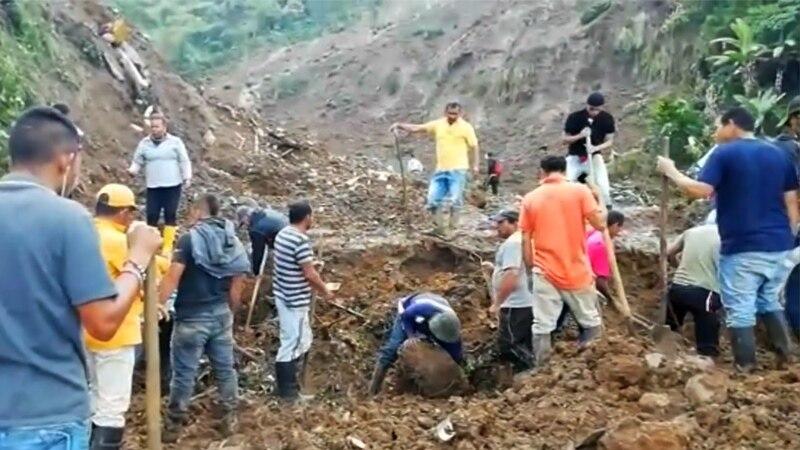 Najmanje 14 mrtvih u klizištima u Kolumbiji