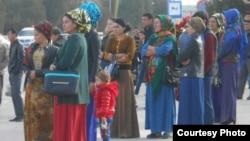 Женщины в будничной одежде, Ашхабад
