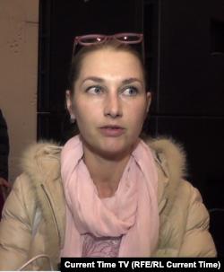 Жительница Фороса Мария Алинова