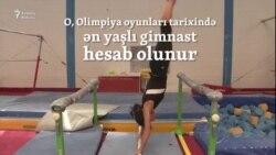 """Olimpiadanın """"nənə"""" gimnastı"""