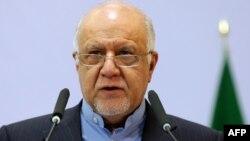 Бижан Намдар Зангане, Иран мұнай министрі.