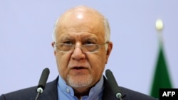 Министр нефти Ирана Бижан Намдар Зангане. 28 ноября 2015 года.