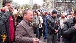 Янукович і всі колишні президенти були «прозахідними» - проросійські активісти у Дніпропетровську