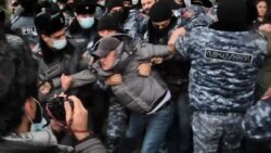 Protesters Demand Resignation Of Armenian PM Pashinian