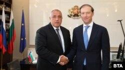 Договорът бе подписан в присъствието на премиера Бойко Борисов и руския министър на търговията Денис Мантуров.
