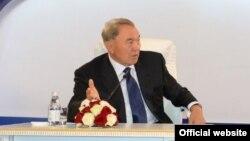Қазақстан президенті Нұрсұлтан Назарбаев. Астана, 3 шілде 2014 жыл.