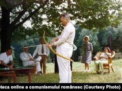 Familia Ceaușescu în vacanță