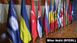 Флаги стран-членов ОЧЭС