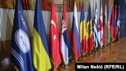 ՍԾՏՀ և անդամ երկրների դրոշները