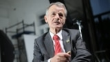 Crimea, Ukraine - the leader of the Crimean Tatar movement Mustafa Dzhemilev
