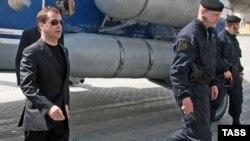 რუსეთის პრეზიდენტი მახაჩყალაში