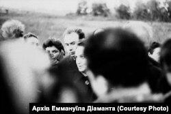 На фото Діна Пронічева. Вона одна із небагатьох кому вдалося вижити 29 вересня 1941 року. Пронічева одна із героїнь роману-документа «Бабин Яр» письменника Анатолія Кузнецова. Фото Гарика Журабовича. Архів Аміка Діаманта
