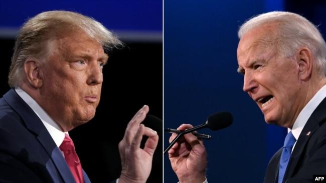Bajden i Tramp debatuju u predizbornoj kampanji (22. oktobar 2020.)