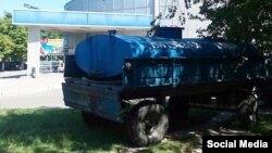 Машина з питною водою у Ізмаїлі (фото: Андрій Абрамченко)