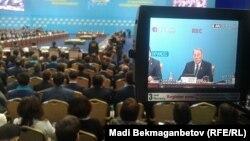 Внеочередной съезд партии «Нур Отан». Астана, 29 января 2016 года.