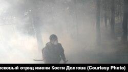Добровольцы из Забайкалья работали на пожарах наравне со специалистами