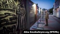 Подготовка к 9 мая в Симферополе