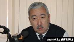 Исхак Масалиев, председатель Партии коммунистов Кыргызстана.