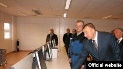 Xaçmaz şəhərində modul tipli elektrik stansiyasının açılışı, 7 dekabr 2006