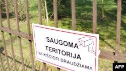 Litva təhlükəsilik departamentinin Vilnüs yaxınlığındakı bazalarından biri.