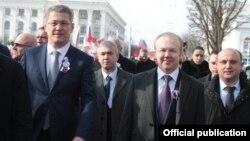 Радий Хабиров и Андрей Назаров в Крыму. Март 2019 года