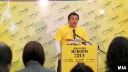 Прес-конференција на директорот на Граѓанската асоцијација МОСТ Дарко Алексов.