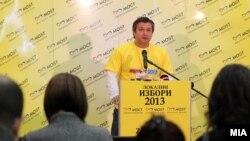 Претседателот на МОСТ Дарко Алексов