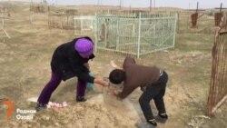 вандализм на клабище христиан в Фархоре