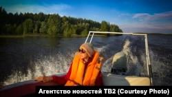"""Юлия Корнева. На съемках фильма """"Дети Нарыма"""""""