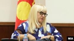 Министерката за правда Дената Дескоска