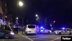 На месте нападения в центре Лондона. 3 августа 2016 года.