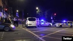 عکس منتشر شده از حادثه در توییتر