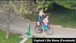 Primarul PSD Robert Negoiță se plimba duminică prin parcul IOR, cu bicicleta.