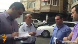 Ռազմական ոստիկանության աշխատակիցները փորձել են բերման ենթարկել «Ժողովուրդ»-ի լրագրողին