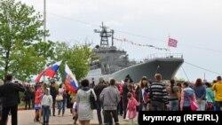 Корабль Чорноморського флоту Росії, архівне фото