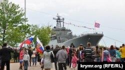 Корабль Чорноморського флоту Росії (архівне фото)