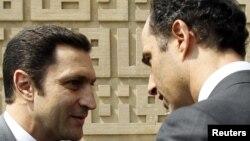 Синовите на Хосни Мубарак