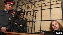 Мария Алехина в суде