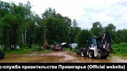 Повторное наводнение в Иркутской области